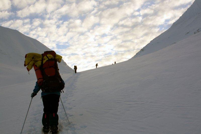 подъем на перевал Южный Партомчорр