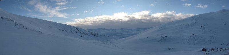 панорама с перевала Южный Партомчорр