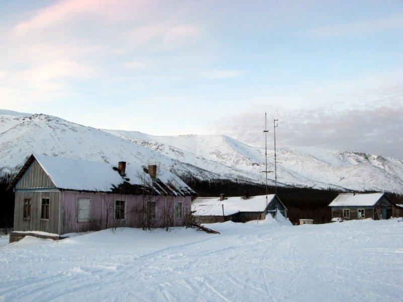 база Куэльпорр в Хибинах