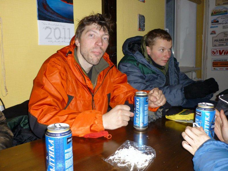 пиво в Хибинах