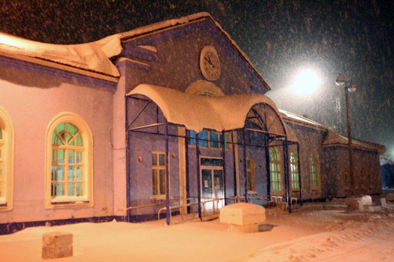 вокзал Апатиты