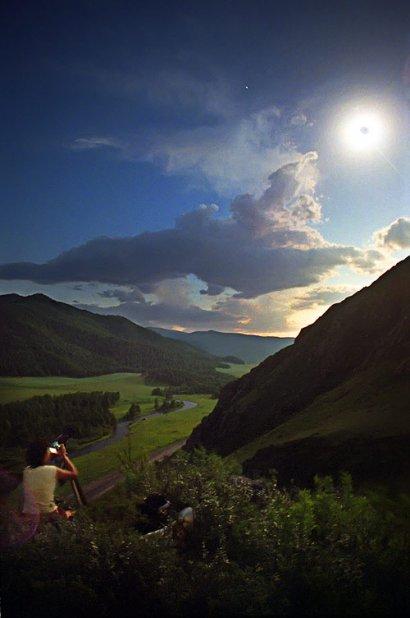 Полное солнечное затмение 1 августа 2008