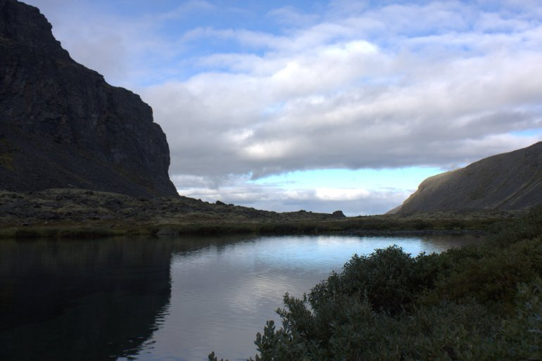 долина ручья Чуврай