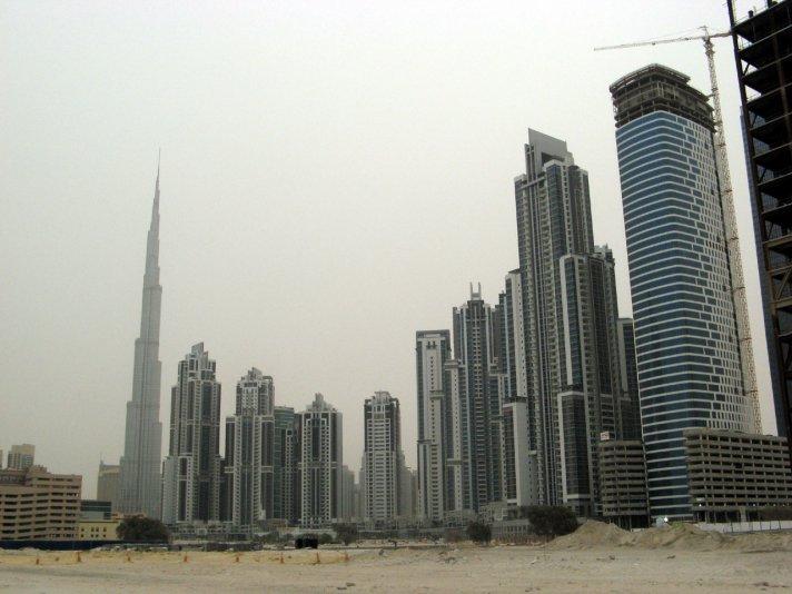новые кварталы Дубай