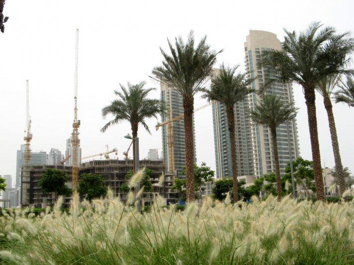 в новом центре Дубай