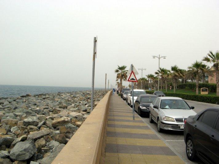 набережная отеля Атлантис (Дубай)