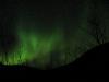 Полярные сияния на базе КСС Куэльпорр в Хибинах