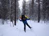 счастье лыжного туризма