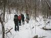 оттачиваем технику продвижения на лыжах по лесу