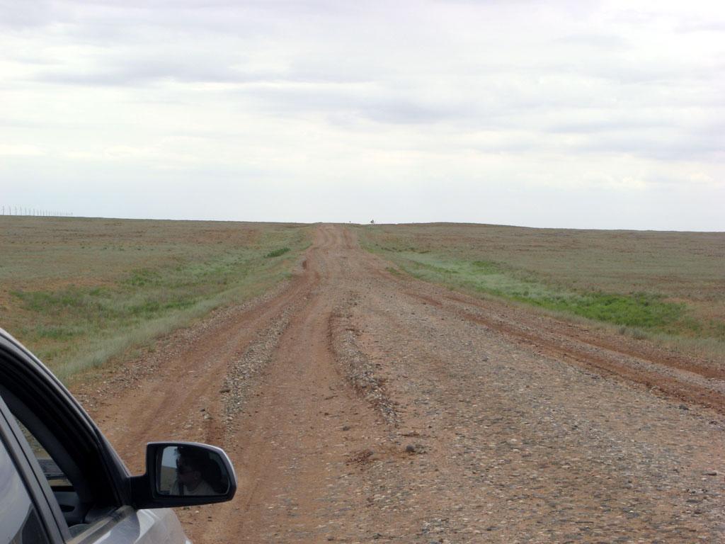 Образцовая калмыцкая дорога