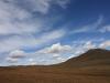 Желтая степь в синем небе