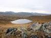 Безымянное озеро в Тыве