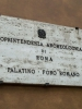табличка перед Палатинским холмом